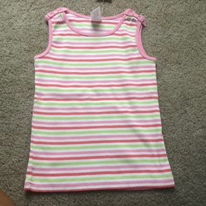 Striped shirt never worn with tag